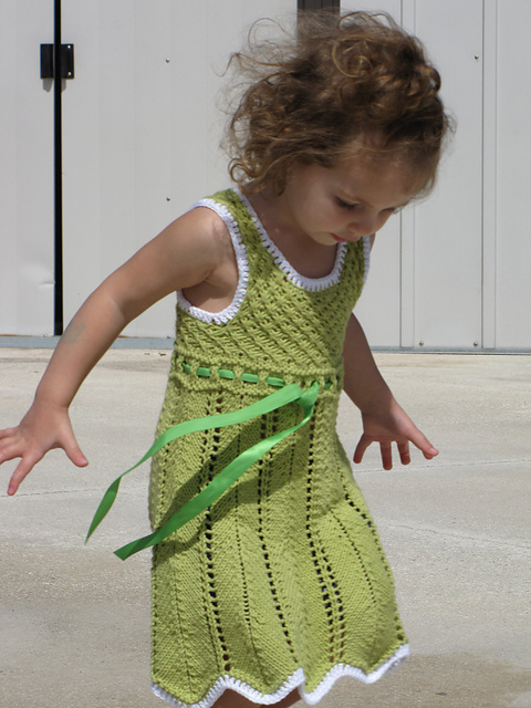 Вязание Спицами Платье Для Девочки До Года. вязание сарафана, платье для девочки до года