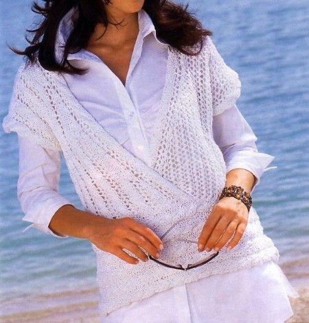 Pullover-incrociato